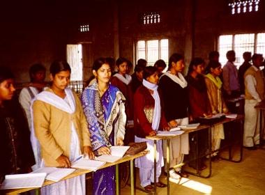 Classroom, January 2004