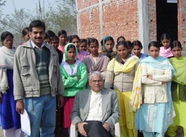 Pratham Teachers with J. Shukla (seated)