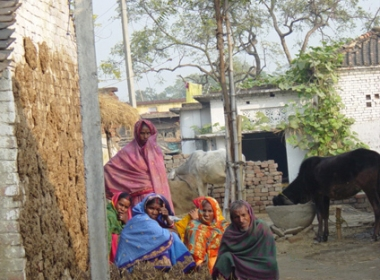 Residents of the village Mirdha