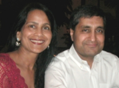 Santosh and Kiran Jiwrajka