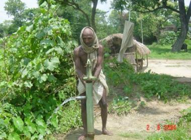 Scene from the village Mirdha