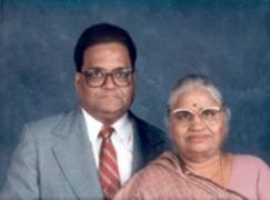 Shri Bhagirathmal Jiwrajka and Shrimati Narbadabai Jiwrajka