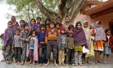 Village children (February 2010)